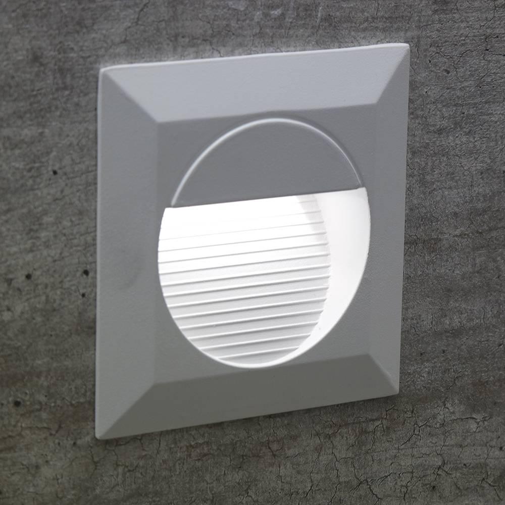 BALIZADOR EMBUTIDO QUAD DASH LED 1,2W -   BR