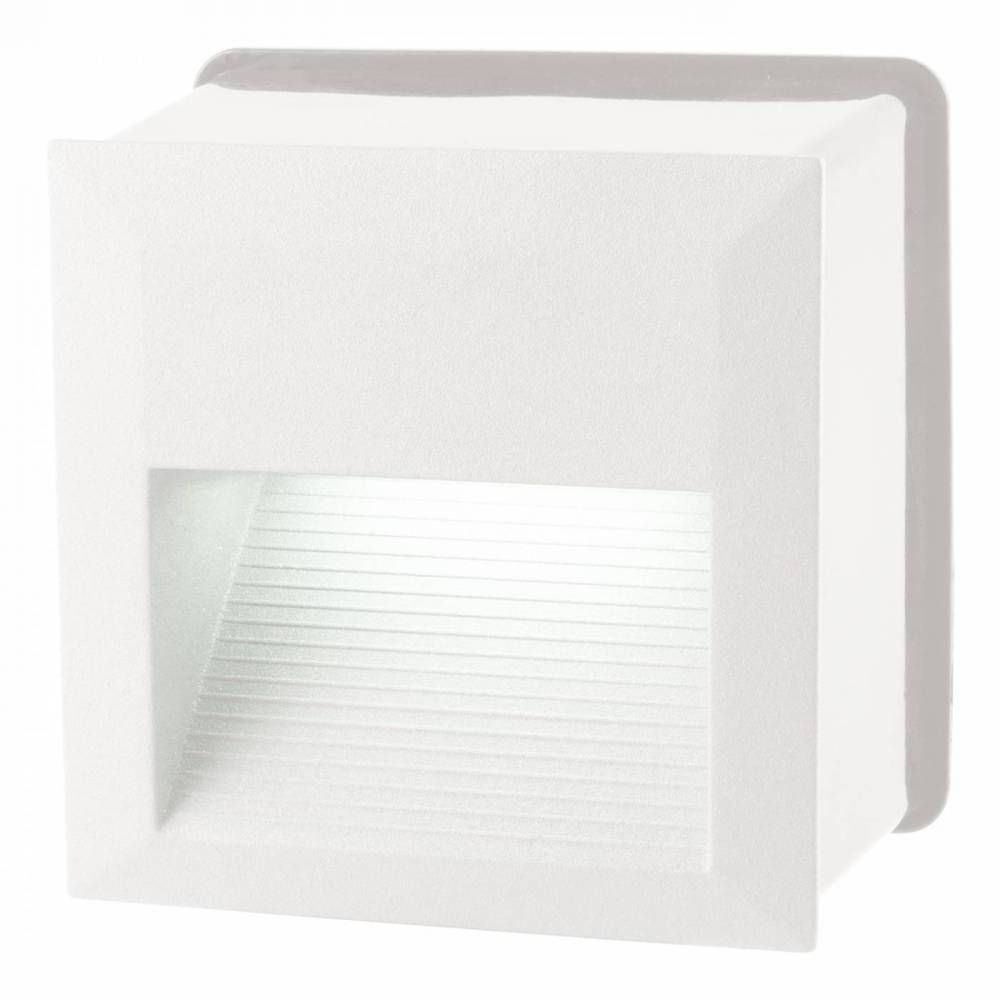 BALIZADOR EMBUTIDO QUAD DASH LED 6W - BR