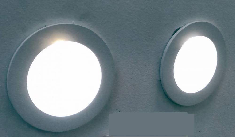 BALIZADOR EMB RED NOTE LED 8CMX2,5CM  LED2W - BR