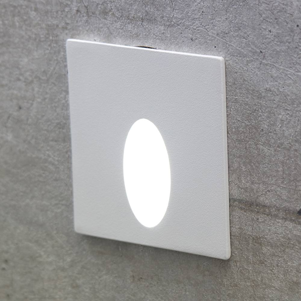 BALIZADOR EMBUTIDO QUAD PUNT LED 3W - BR