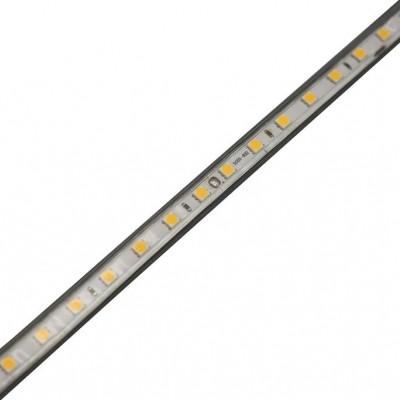 FITA DE LED 14.4W/M 127V 550LM/M 60LED/M 3000k >70 IP67 25M