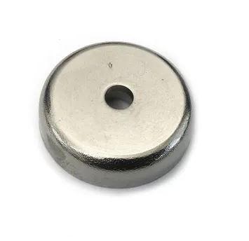 Fixador Imã Magnético 32 mm com Furo Rebaixado Força Aprox. 23 Kg - 1 unidade