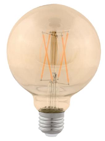 LAMP LED BALLOON G95 VINTAGE E27 2W STH6336/24