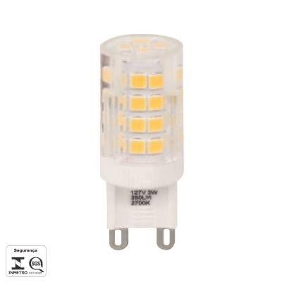 LAMPADA LED HALOPIN G9 3W 260LM 2700K 220V