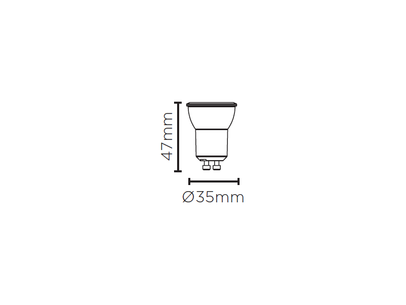 LAMP LED MR11 GU10 3W 260LM STH8513/65