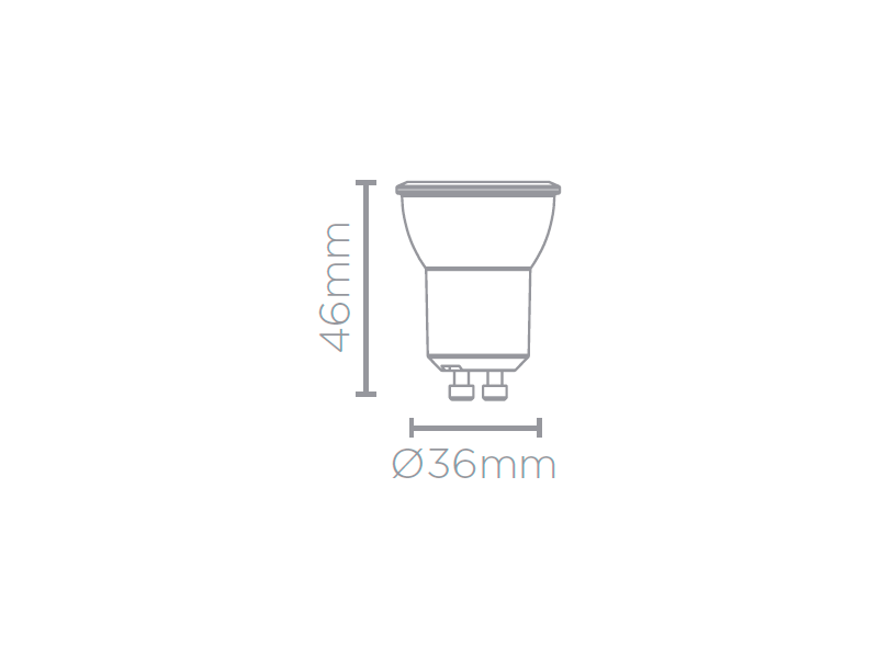 LAMP LED MR11 GU10 3W 250LM STH8513/30