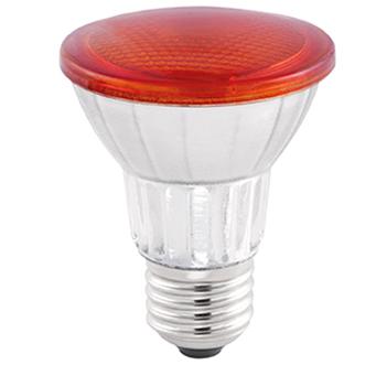 LAMP LED PAR20 COLOR GLASS 7W 45° LUZ AMBAR STH6090/AB
