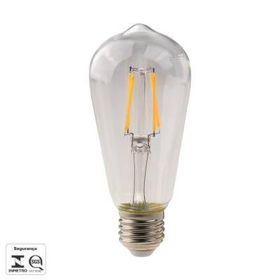 LAMPADA DE FILAMENTO DE LED ST58 E27 4,5W 480LM 27