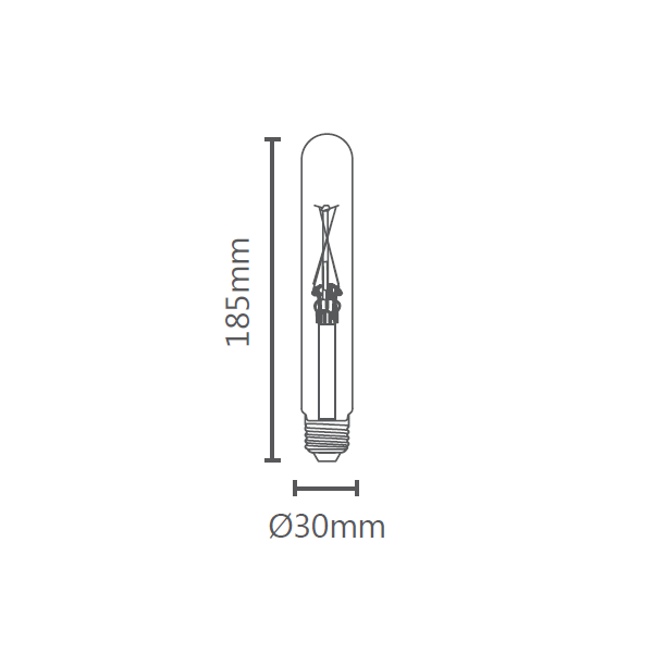 LAMP LED T30 VINTAGE E27 2W STH6339/24