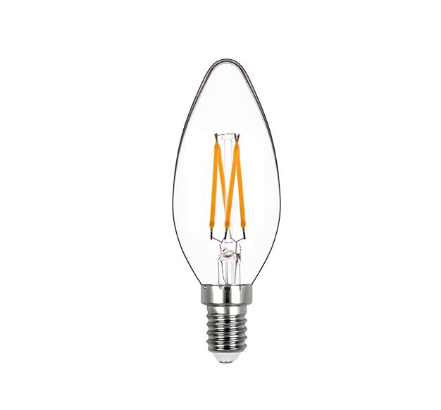 LAMPLED VELA LISA FILAMENTO DIM E14 4W 127V 250LM STH8361/24