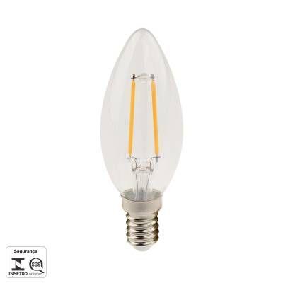 LAMPADA FILAMENTO DE LED E14 2,5W 250LM 2700K BIV