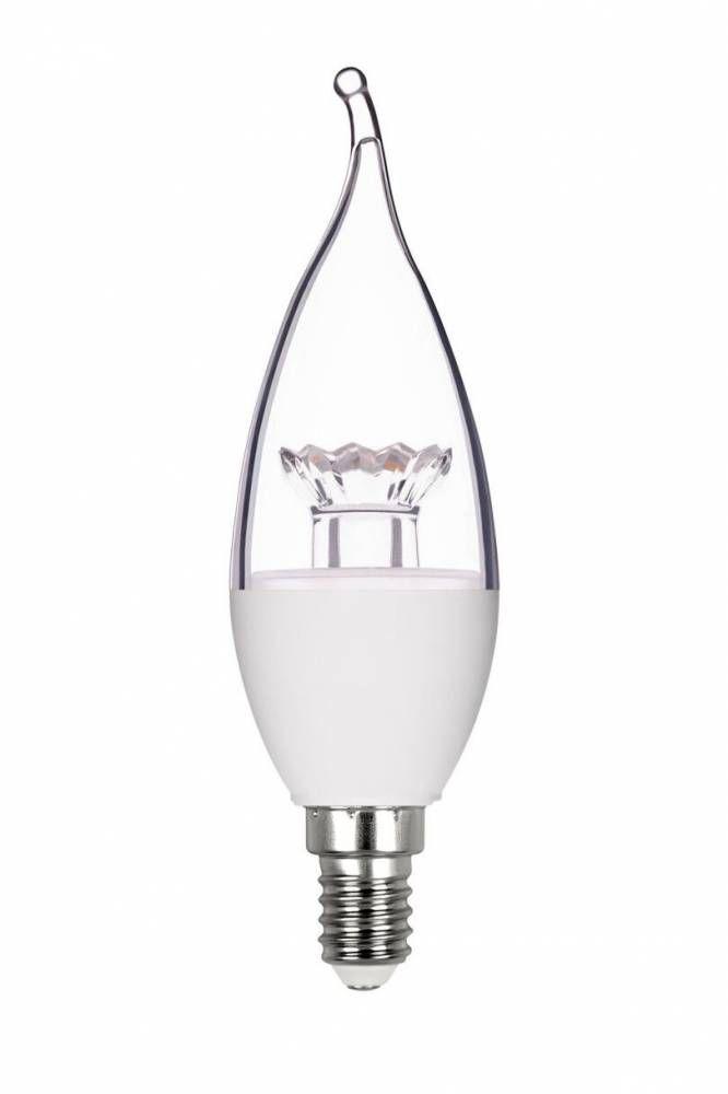 LAMP LED VELA CHAMA DIM. E14 6W 490LM 220V STH7352/27