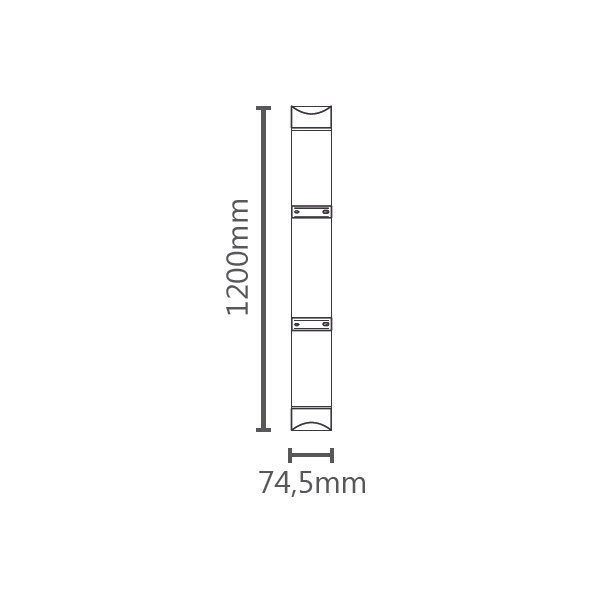 LUMINÁRIA LED FLAT 18W 1400LM STH7930/40