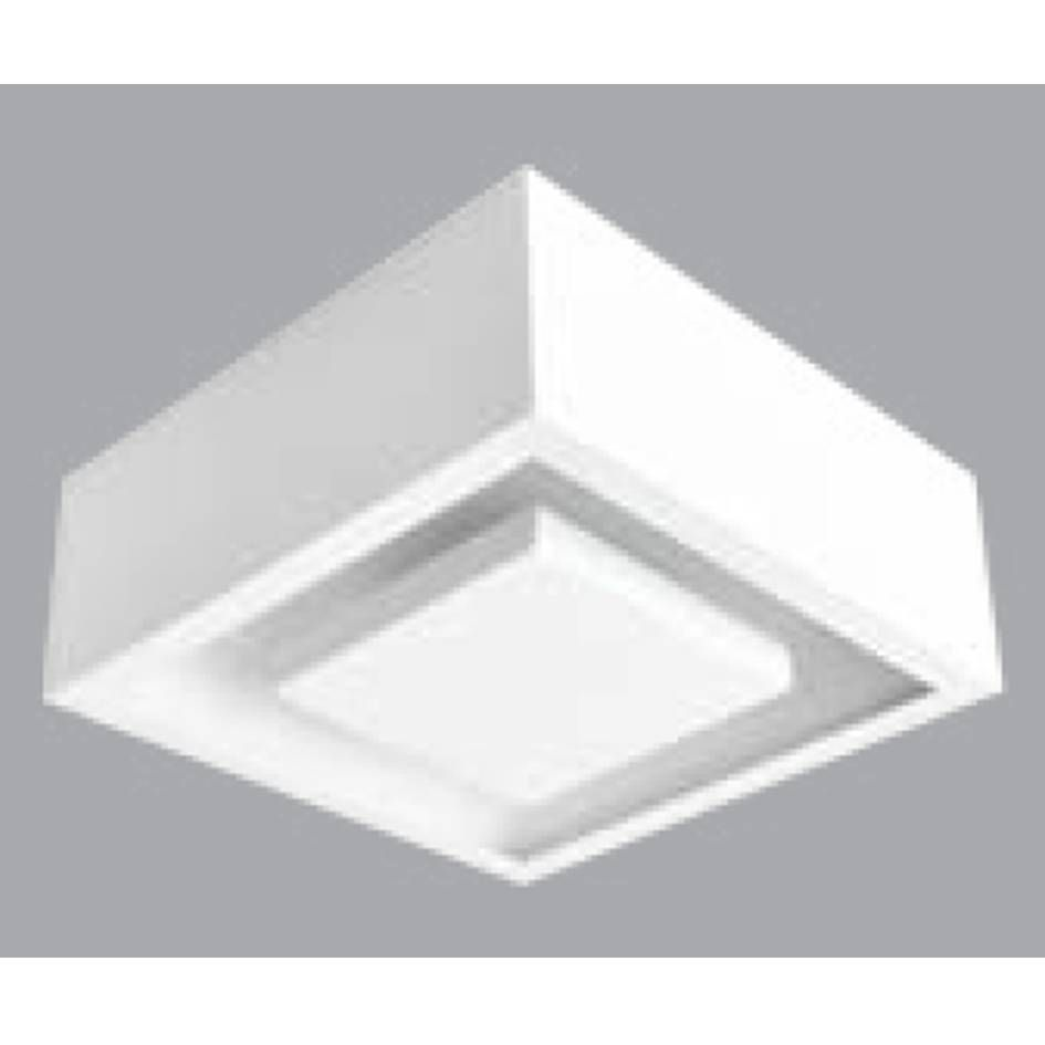 PLAFON SOBREPOR QUAD HIDE LED 12W - BR