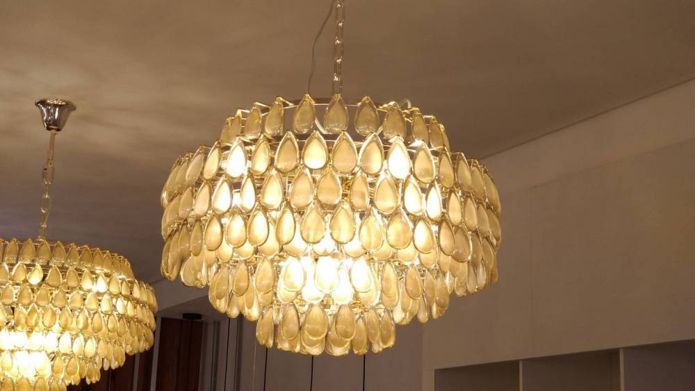 LUSTRE ODEON A42xD60  12xE14 CO/DRD