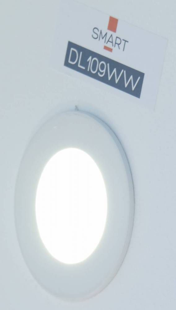 PLAFON EMBUTIDO RED SMART  LED 3W - BR