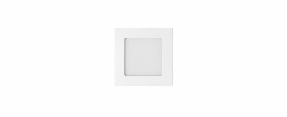 painel embutido led 6w 12cm 3.000K quente Stella STH9951Q/30EQ