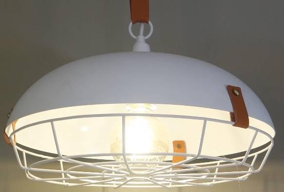 PENDENTE CUORO 35cmx20cm  1xE27 BIVOLT BR/MAR