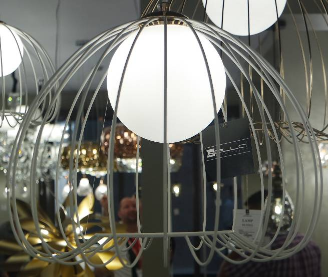 PENDENTE LAMP 38cm x 33cm  1xG9 BIVOLT BR