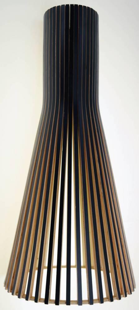 pendente NÓTUS madeira 1Xbulbo 30cm Stella SD8045