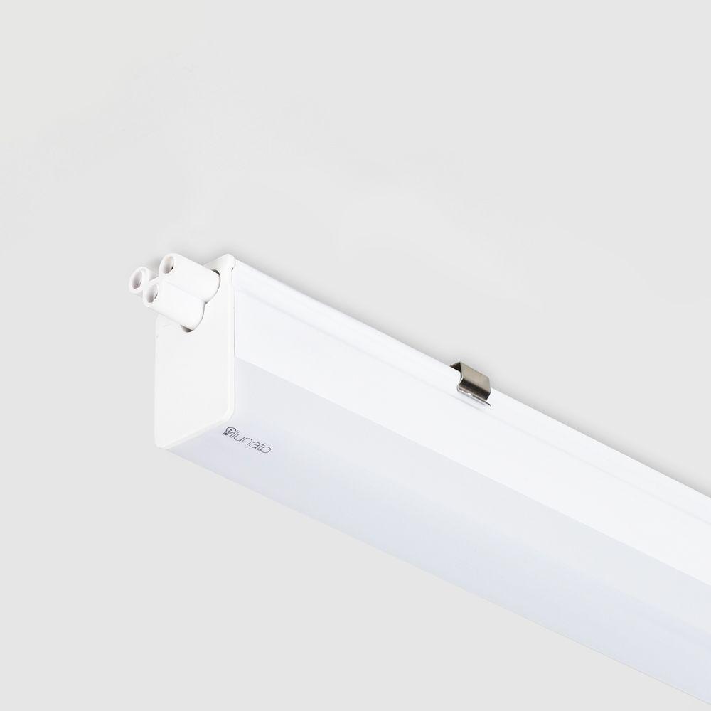 perfil de led 57cm branco 10W/m 27/30/40/60K MAGISTRALE sobreposto ilunato ILT0370