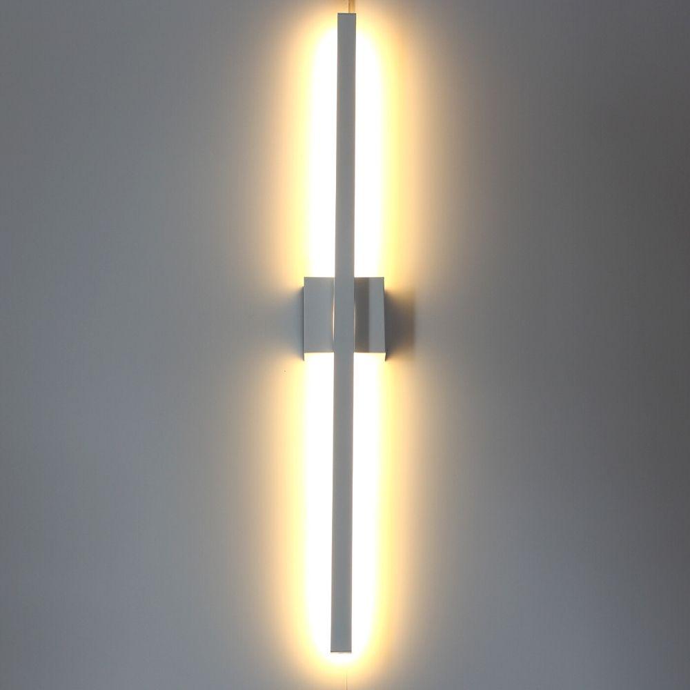 Perfil de Led AURORA arandela / 19W/m / alumínio e acrílico ILT0970