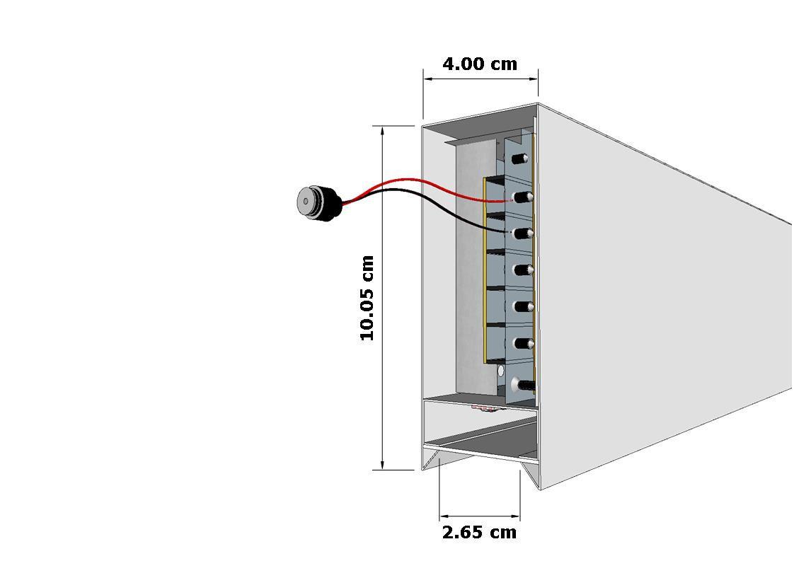 Perfil de Led Cozinha Continuare Sobreposto 19W/m ou 38W/m RGBCCT Automação ILT0400