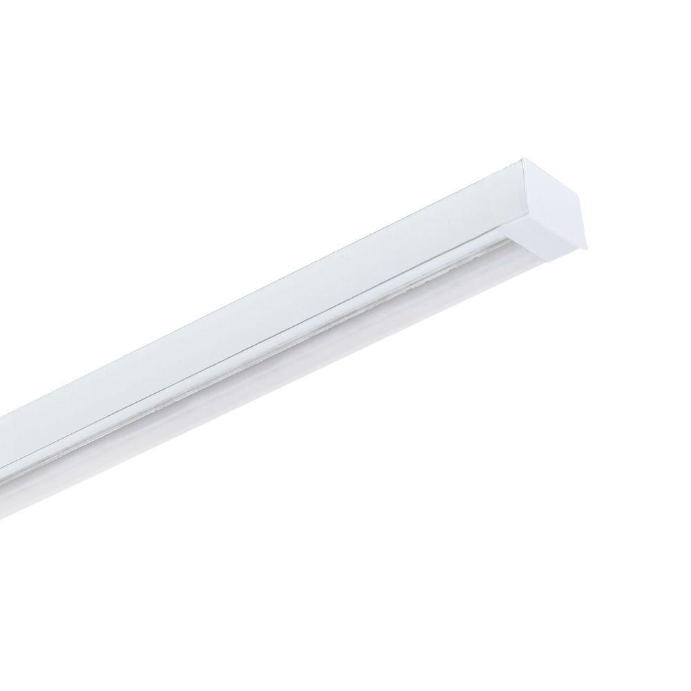 Perfil de Led DELIZIE SOBREPOR luz a 45º / 19W/m / alumínio e acrílico ILT0480