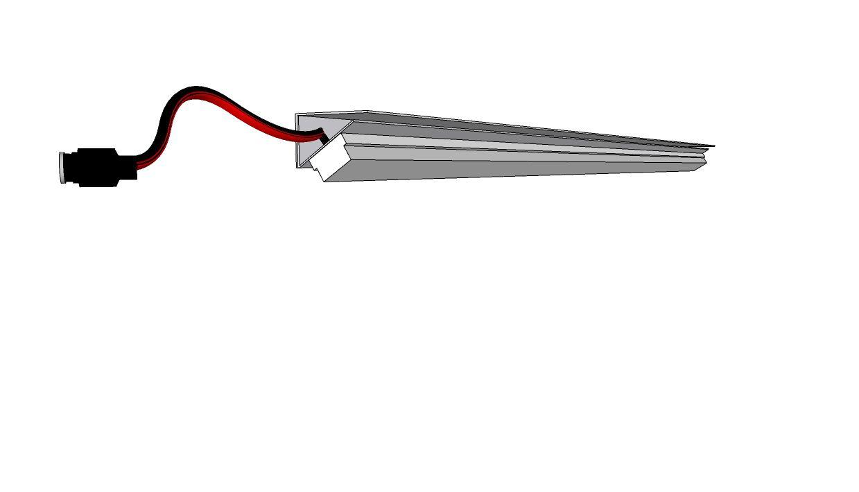 perfil de led DELIZIE sobreposto ILT0480