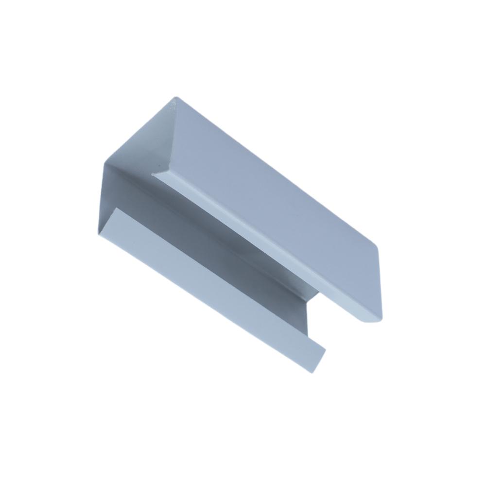 Perfil de Led Destra embutir no gesso assimétrico / 19W/m / alumínio E acrílico ILT0240