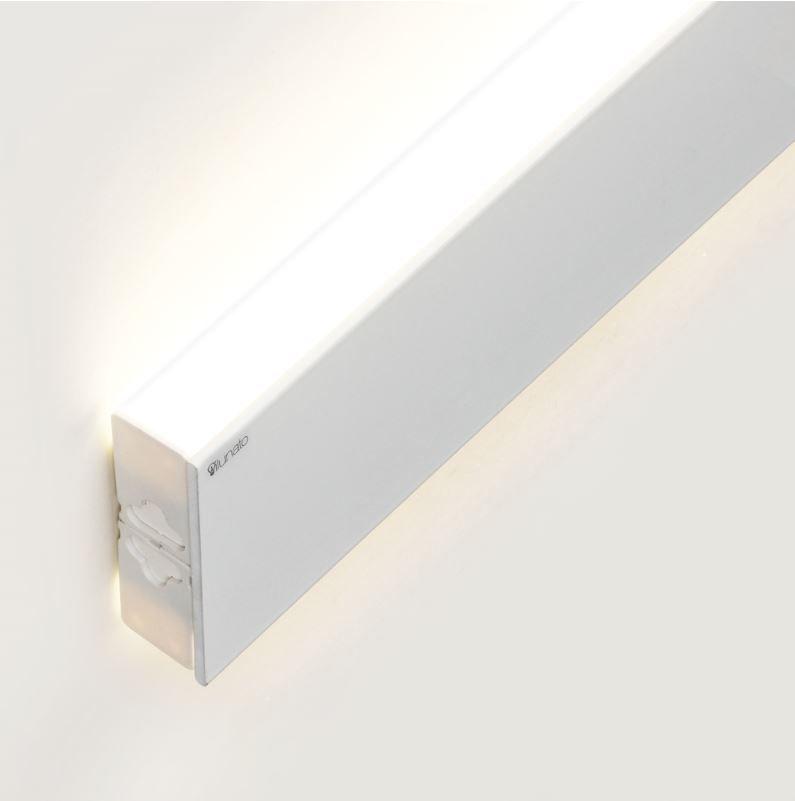 perfil de led DUO branco arandela ilunato ILT0900