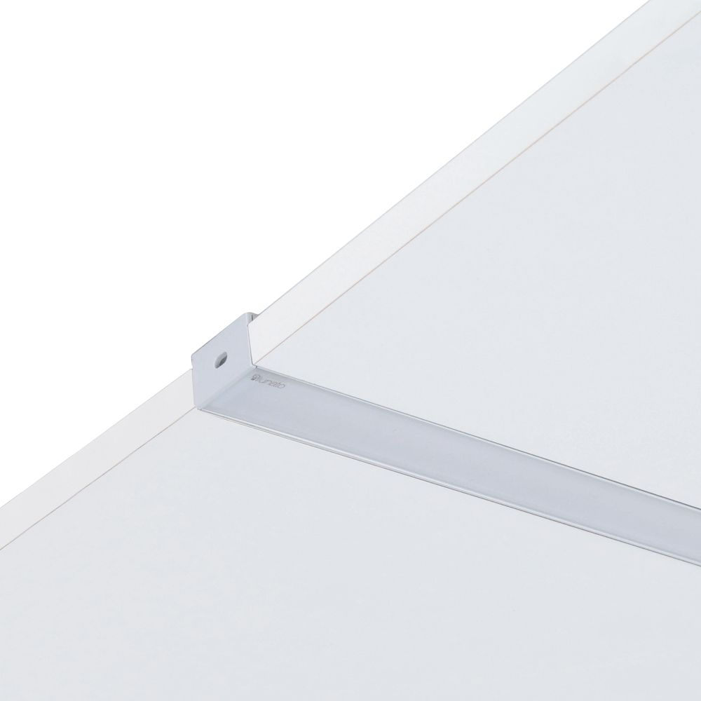 Perfil de Led de Embutir Lisciare Gesso No Frame Sem Aba Ilunato ILT0160