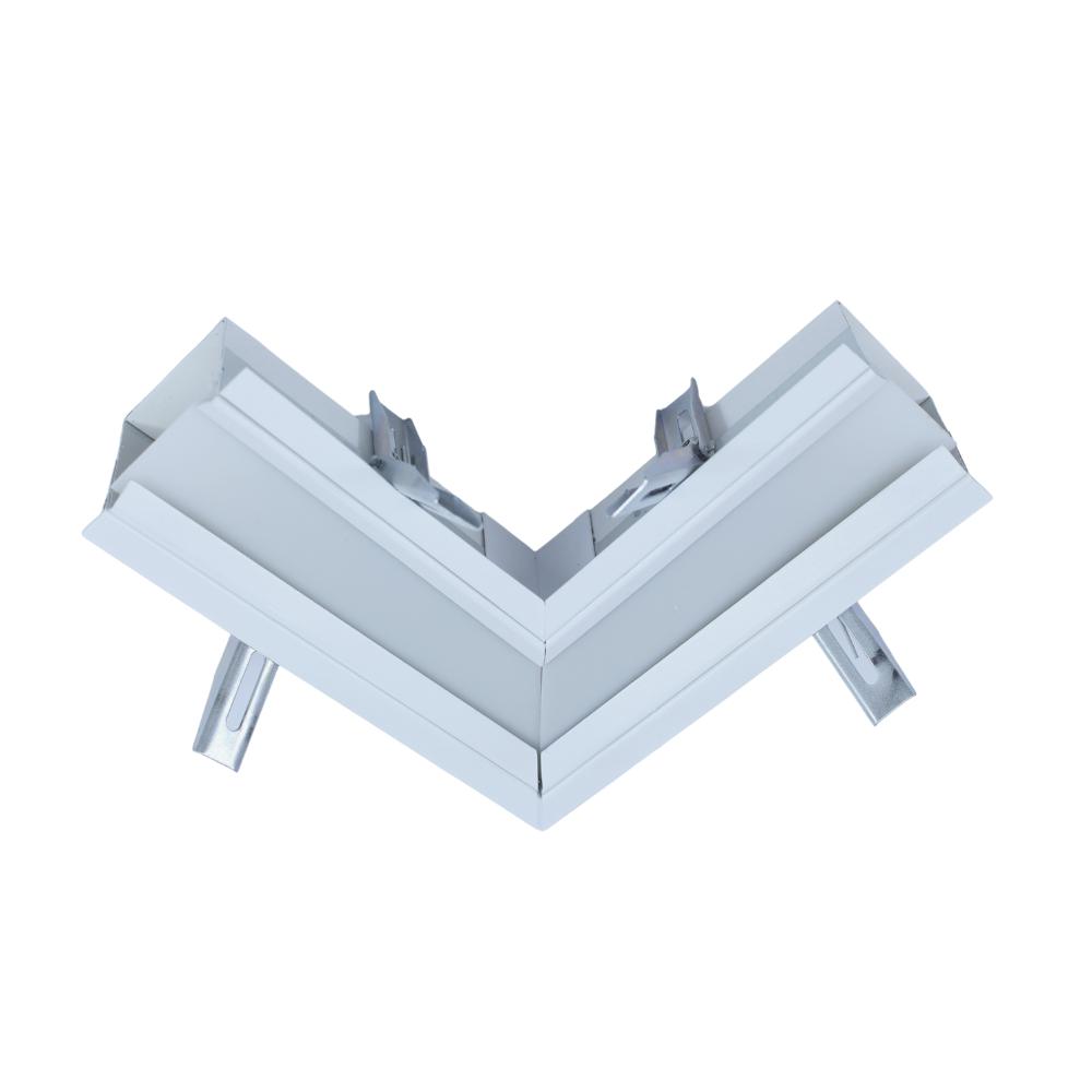 PERFIL DE LED SOLE embutir no gesso / 38W/m / alumínio e acrílico ILT0301