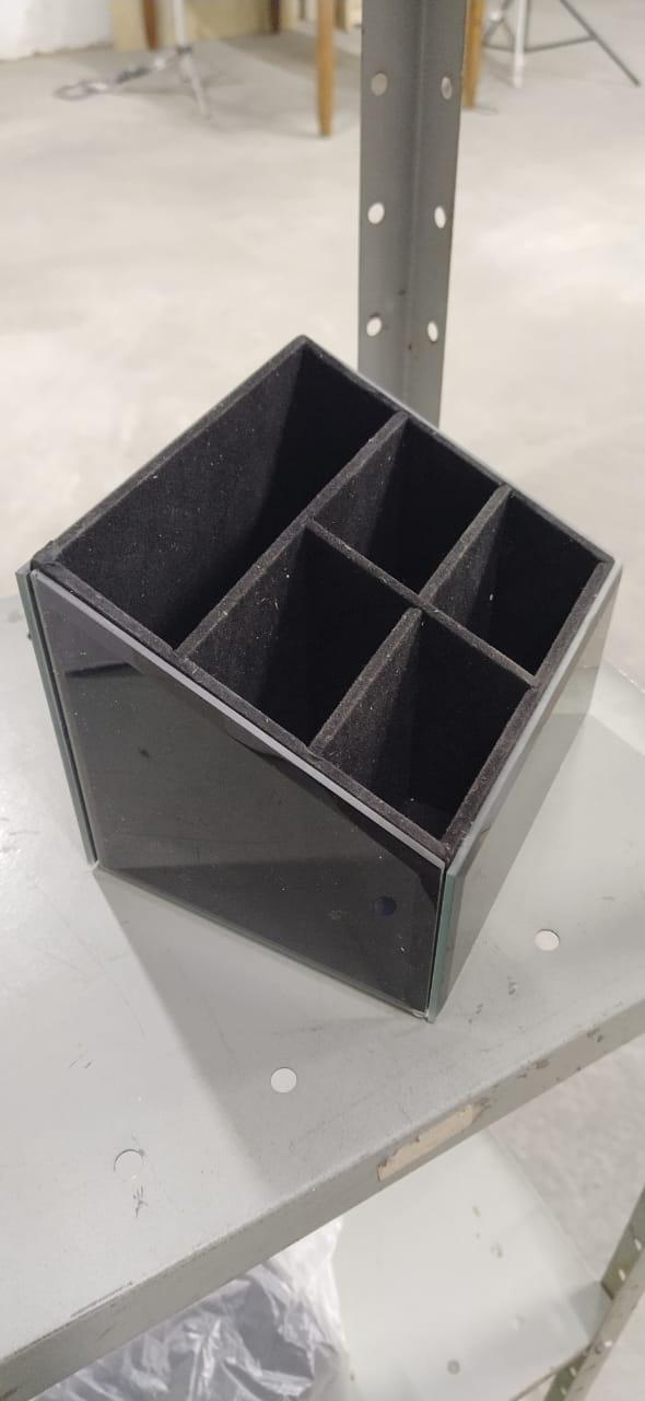 Porta controle remoto vidro fumê  XA0084EQ
