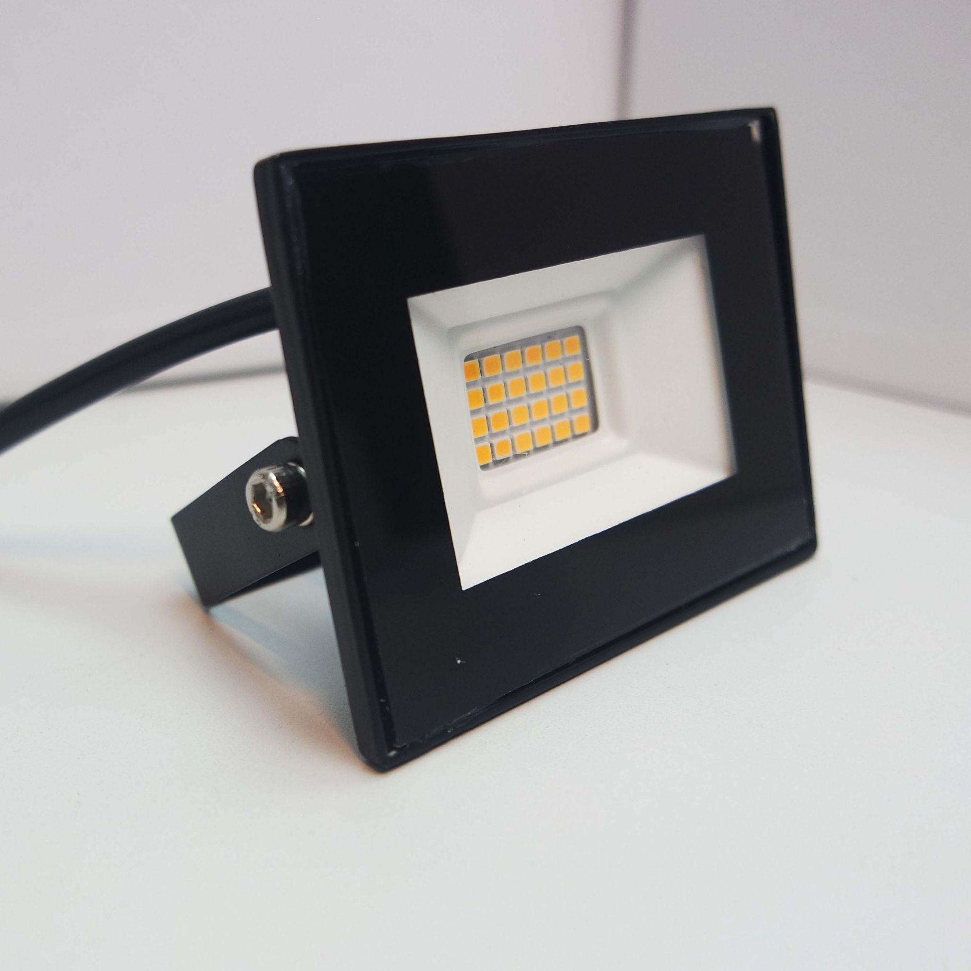 refletor 10W biv 3000k 9cm x 7cm