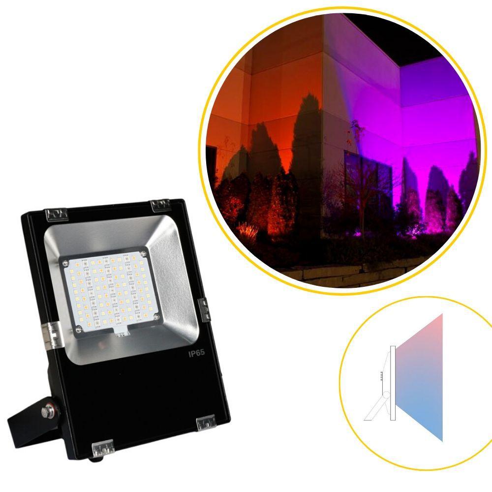 refletor led CITTÀ rgbcct automação incorporada ilunato ILT1790