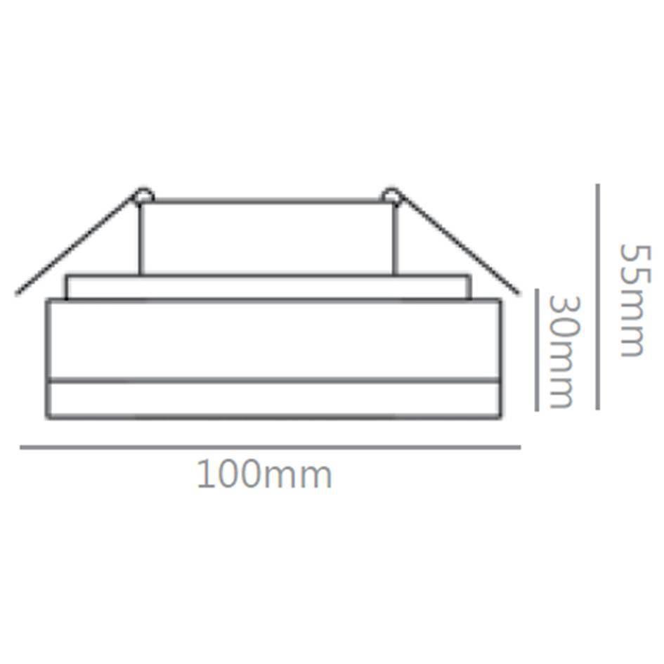 SEMI-EMBUTIDO SD4005Q