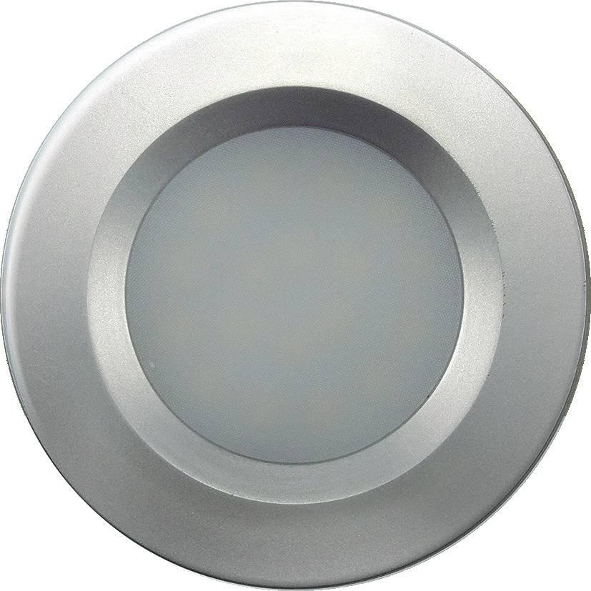 EMBUTIDO LED PARA MÓVEIS PRATA 2W 120LM STH7906/30