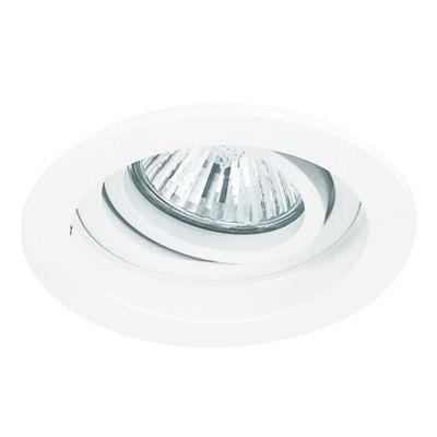 SPOT DE EMBUTIR CONECTA BRANCO (D)18.5CM  (A)6.5CM   1XGU10 AR111