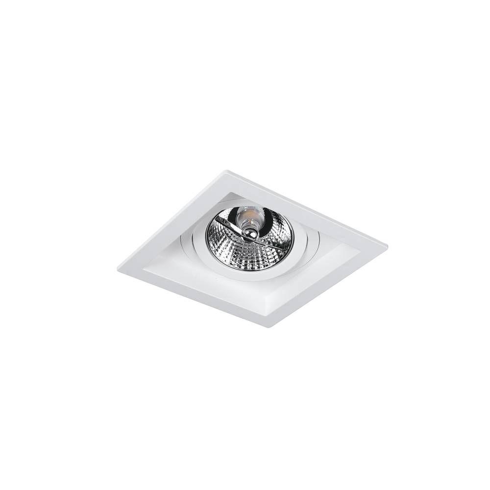 spot IDEALE 1Xar70 sem led branco embutido LN310N