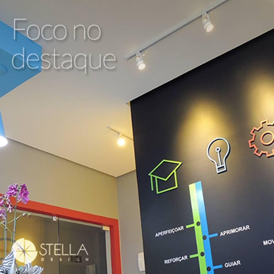 spot p/ trilho RIO 1Xar70 direcionável Stella SD1170BR