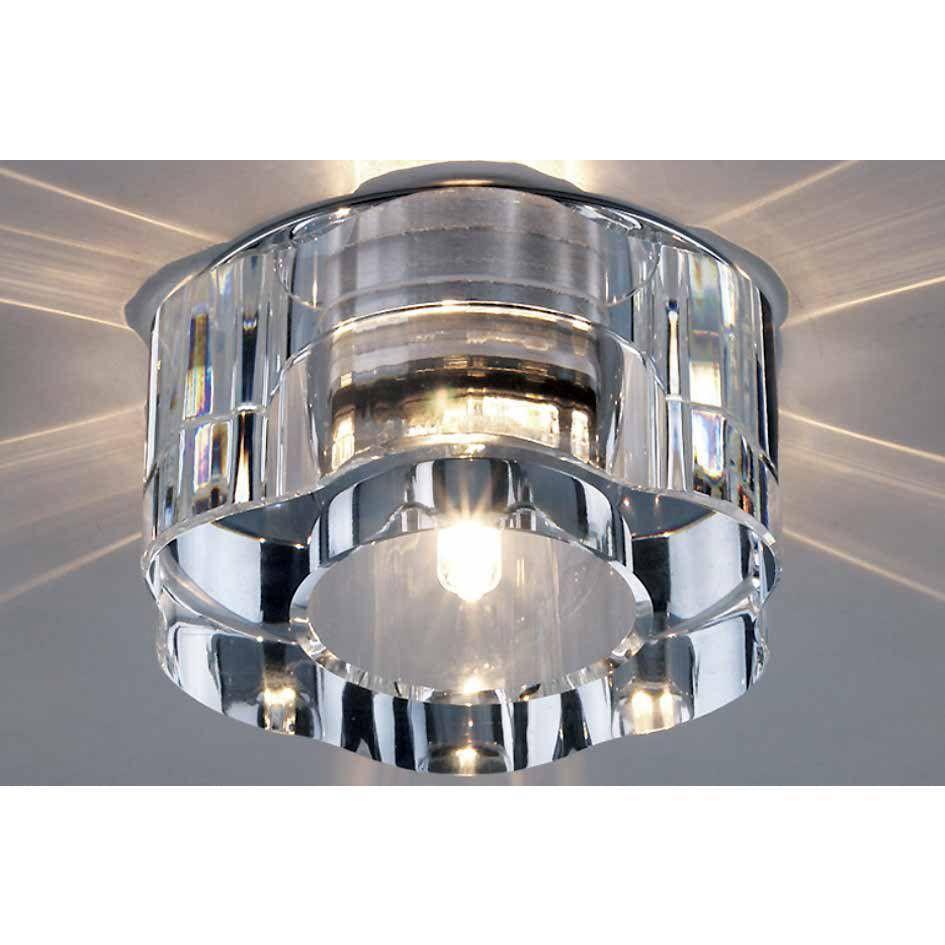 spot PERSA cristal transparente 1xbipino 8cm Stella SD4012