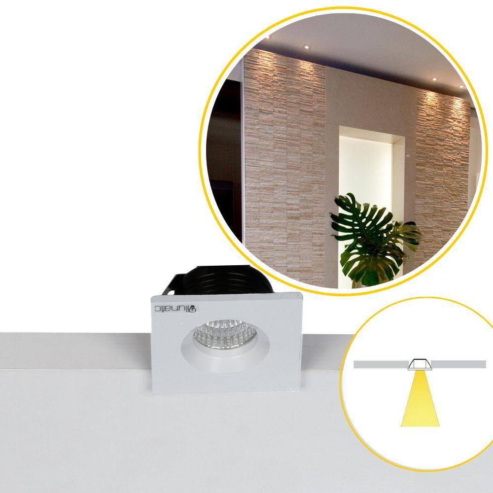 spot RIDOTTO 1X 36° 27/30/40/60K embutido mini foco fixo ilunato ILT1010