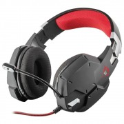 Headset Gamer Carus GXT322 Dynamic Trust Preto PS4 XBOX PC