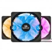 Kit Com 3 Fans Redragon RGB 120x25MM GC-F006 GC-701