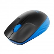 Mouse Logitech Sem Fio M190 Azul
