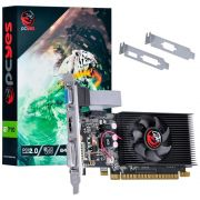 Placa de Video Geforce GT 710 2GB DDR3 64 BITS Low Profile