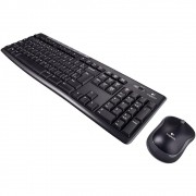 Teclado E Mouse Logitech Mk270 Wireless Abnt 2