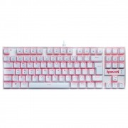 Teclado Mecânico Redragon Kumara Branco 552W-SINGLE Switch Blue