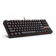Teclado Redragon Kumara K552 Single Color Red Switch Brown